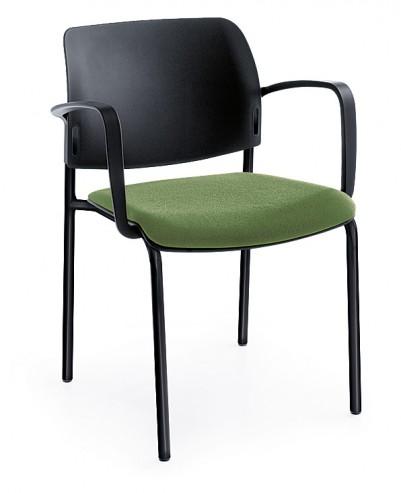 Krzesło konferencyjne Bit 560H czarny 2P