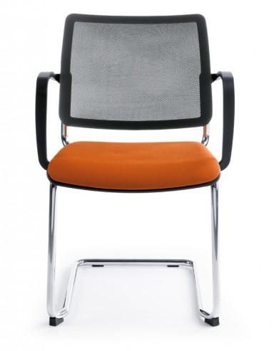 Krzesło konferencyjne Bit 570V chrom 2P