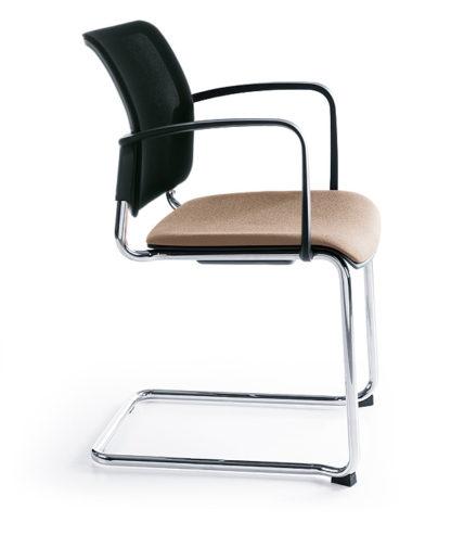Krzesło konferencyjne Bit 575V chrom 2P