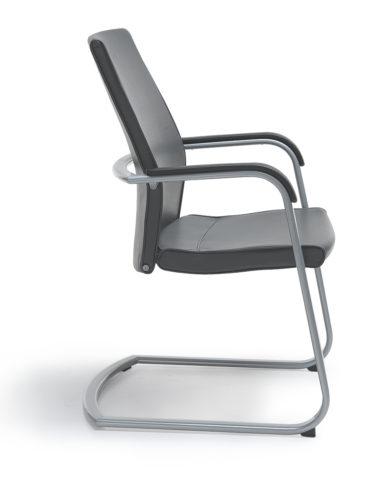 Krzesło konferencyjne ACTIVE 21V metalik