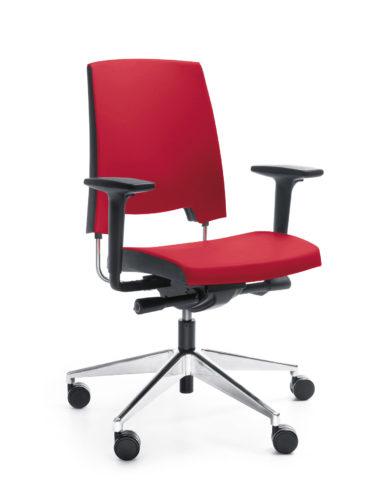 Krzesło obrotowe ARCA 21SL chrom P51PU_Softline SL-19