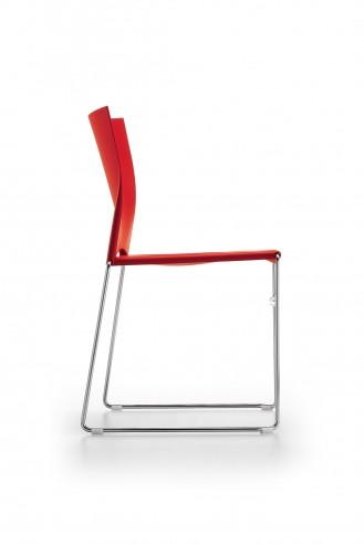 Krzesło konferencyjne Ariz 550V chrom