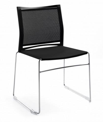 Krzesło konferencyjne ARIZ 555V chrom