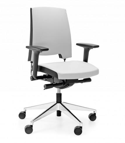 Krzesło obrotowe Arca 21SFL chrom P51PU_skos
