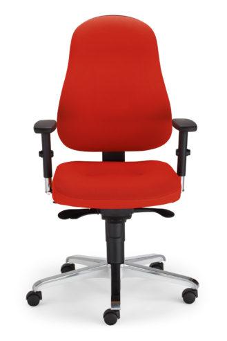 Krzesło obrotowe Bizzi R15K chrome steel36 chrome EpronSyncron seat