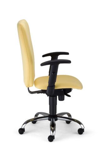 Krzesło obrotowe Bolero II R1B steel02 OX040 bok