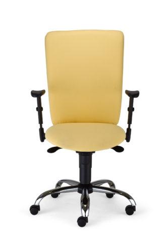 Krzesło obrotowe Bolero II R1B steel02 OX040 przód