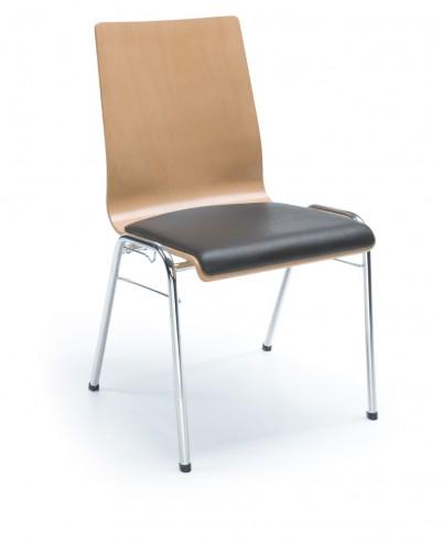 Krzesło LIGO K23 H chrom