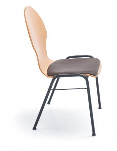 Krzesło konferencyjne Ligo K22 H black_bok