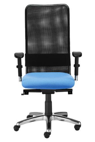 Krzesło obrotowe Montana HB LU R15G steel11 chrome EpronSyncronPlus YN097