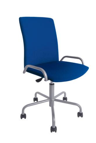 Krzesło obrotowe OLO 11E metalik