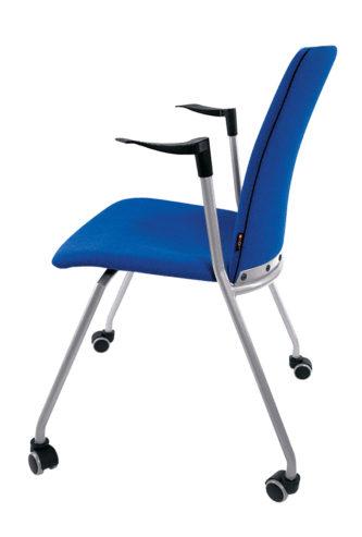 Krzesło konferencyjne OLO 11H metalik + 2P kółka