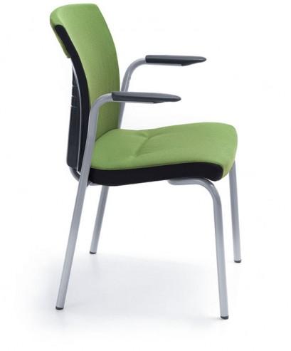 Krzesło konferencyjne ONE 21H metalik