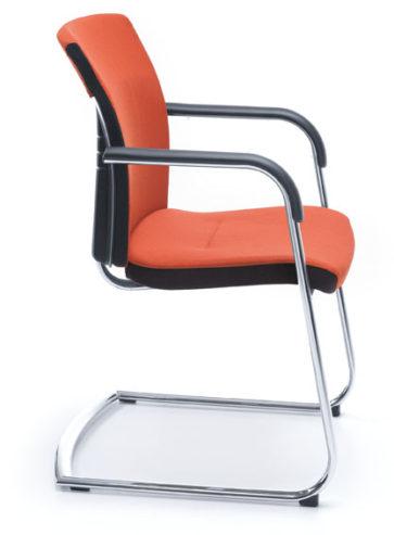 Krzesło konferencyjne ONE 21VN chrom