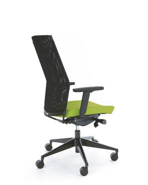Krzesło obrotowe PERFO III 213S czarny P54PU