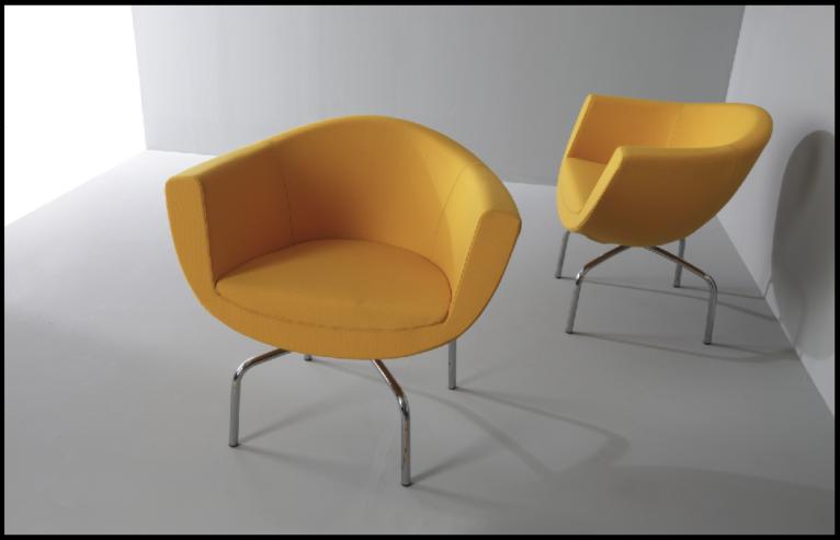 Fotele recepcyjne Sorriso