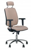 Krzesło obrotowe Quatro HR R2C steel04 chrome Active1 M56