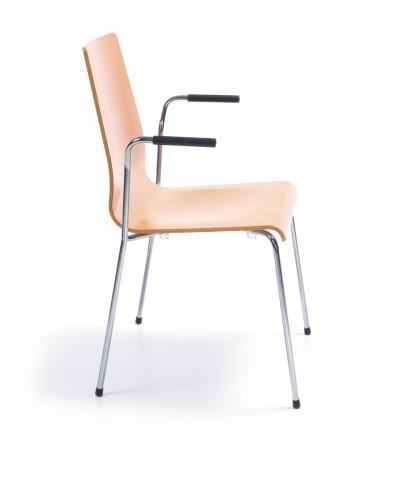 Krzesło sklejkowe RESSO_z_podlokietnikami