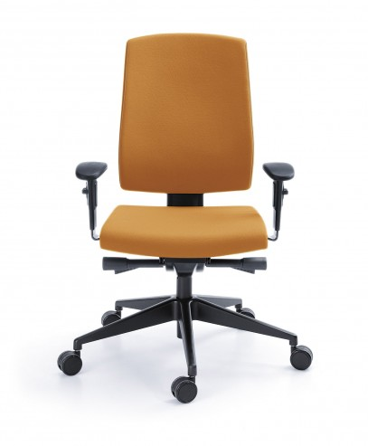 Krzesło obrotowe Raya 23SL Czarny P45PP