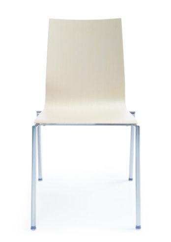 Krzesło sklejkowe SENSI K1H chrom