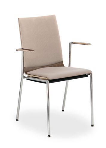 Krzesło konferncyjne SENSI K3H chrom 2P