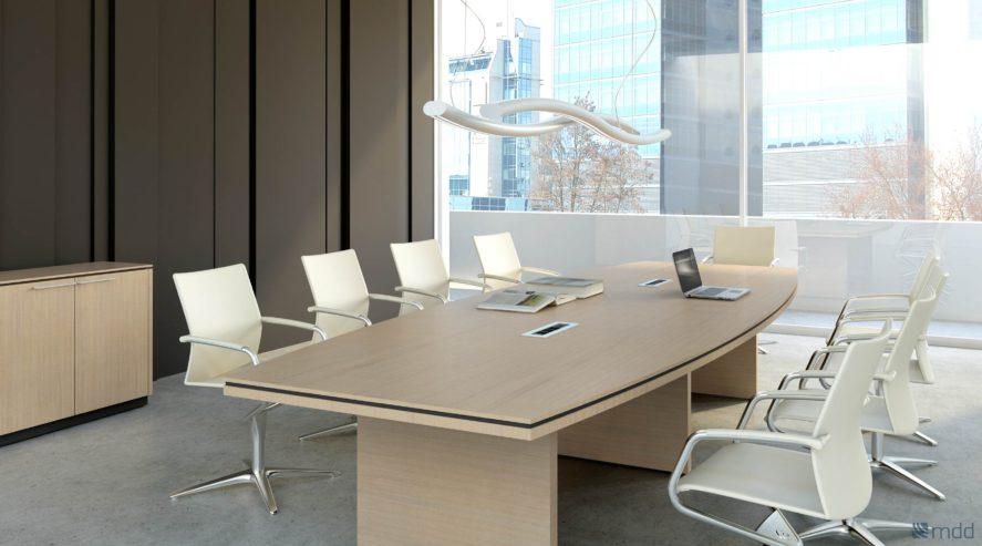 Meble gabinetowe Status stół konferencyjny