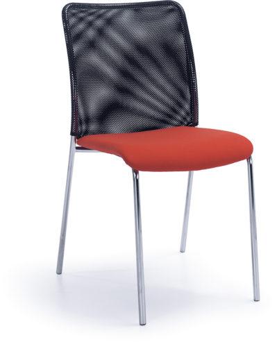 Krzesło konferencyjne Sun H chrom