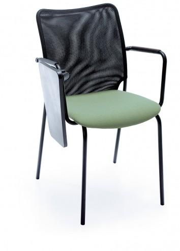 Krzesło audytoryjne Sun H czarny 2PB