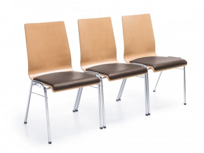 Krzesła ligo łączenie w rzędy