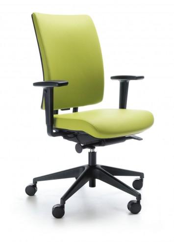Krzesło obrotowe VERIS 10SFL czarny P48PU