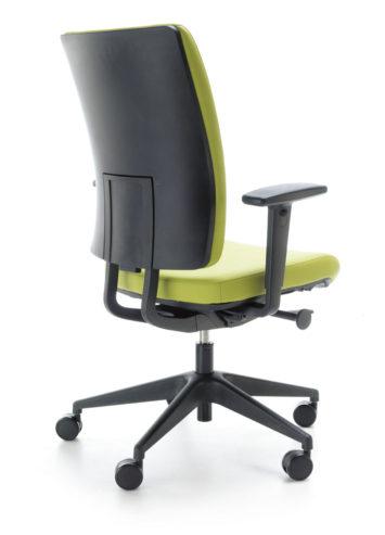Krzesło obrotowe VERIS 10SFL czarny P48PU tył