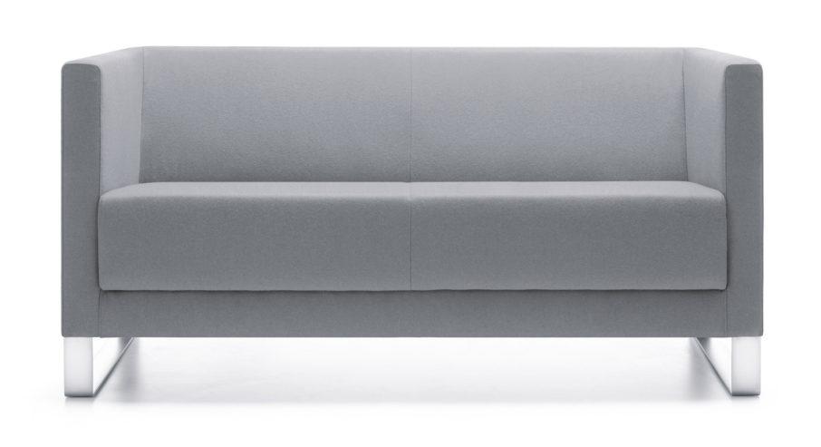 Sofa Vancouver Lite 2 V chrome