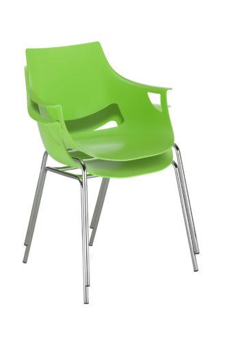 Krzesło Fano chrome sztaplowanie