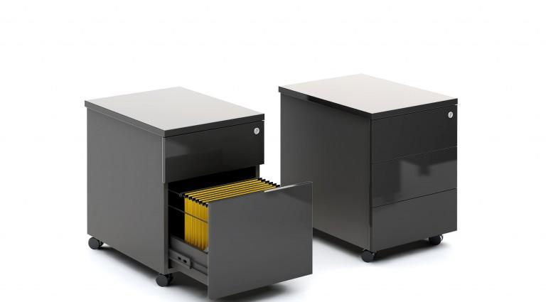 Kontenery biurowe z szufladami