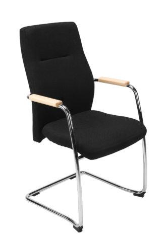 Krzesło Orlando wood cfp chrome YB009