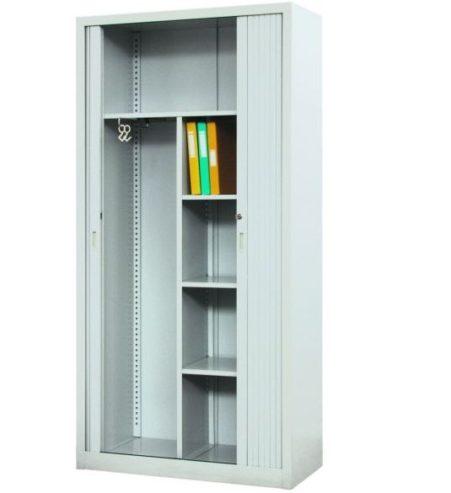 Szafy aktowe metalowe z drzwiami żaluzjowymi SBM 219