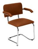 Krzesło Sylwia S arm chrome V4