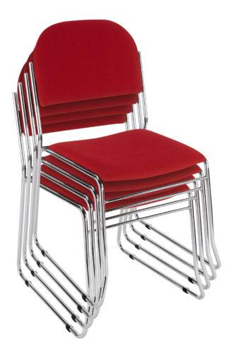Krzesła Vesta sztaplowanie