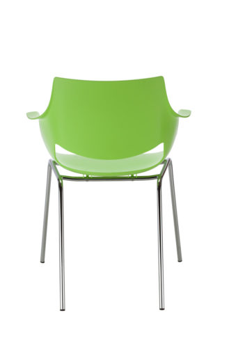 FANO chrome lime green tył