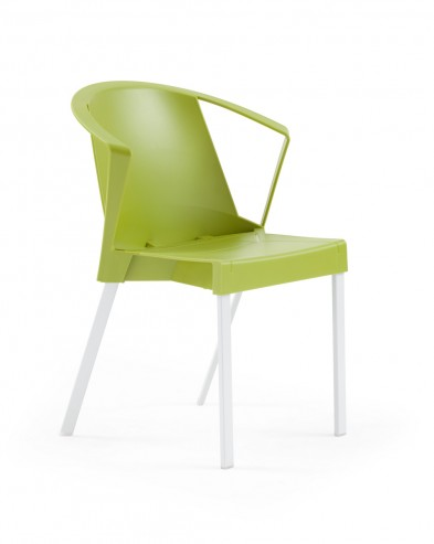 Krzesło SOLEIL arm zielone