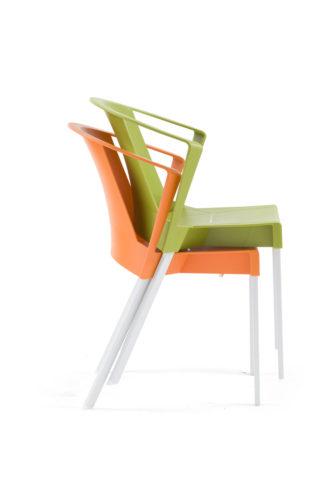 Krzesło SOLEIL arm sztaplowanie