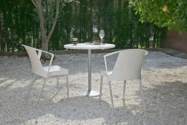 SOLEIL arm white LENA outdoors w142 fi800