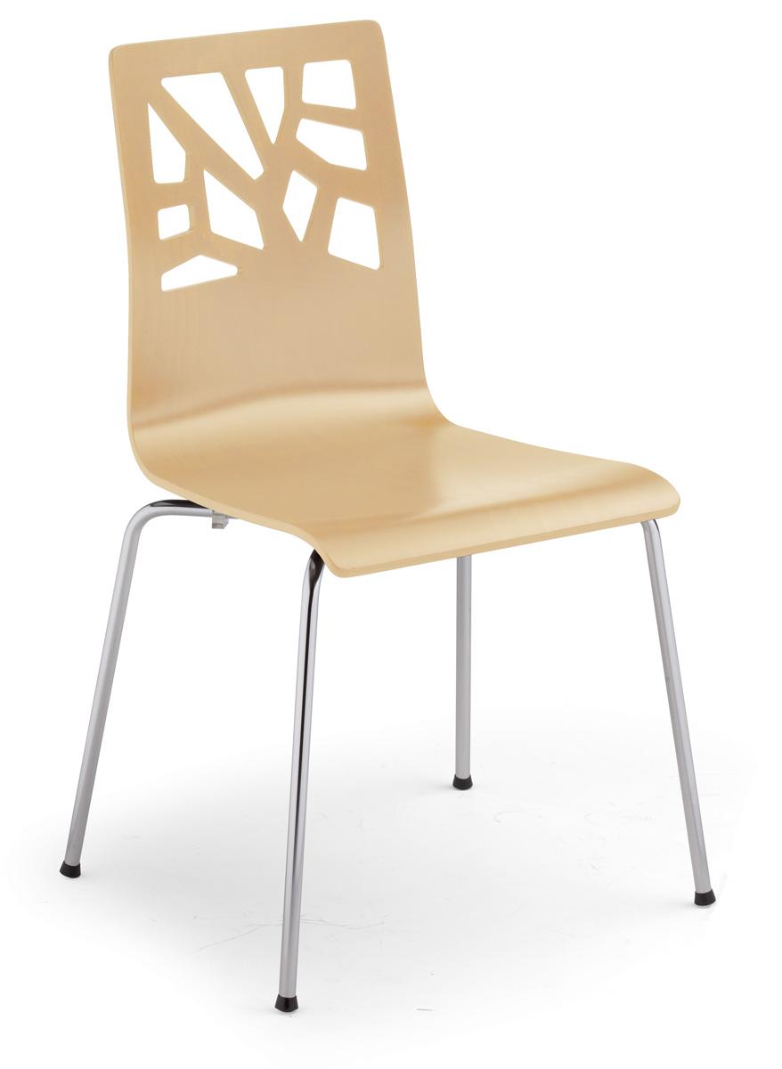 Krzesło Sklejkowe Do Kawiarni Verbena Nowy Styl Db Meble