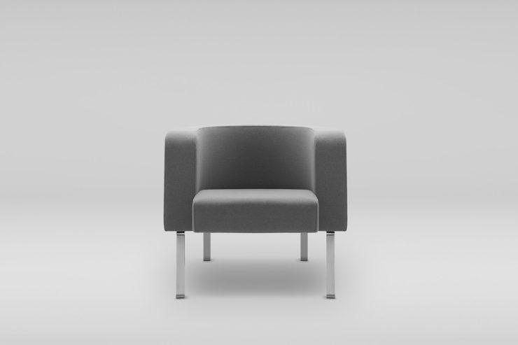 Fotel NEON L_nĘĺki metalowe