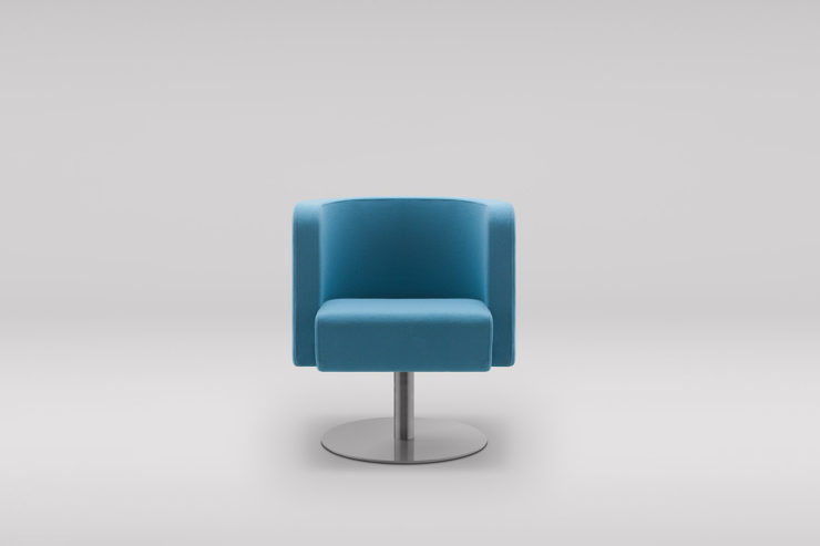 Fotel NEON S podstawa obrotowa